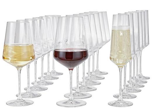 GLÄSERSET 18-teilig - Transparent, Basics, Glas (50/26/28cm) - Leonardo