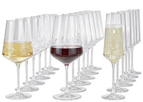 GLASSET - transparent, Design, glas (50,00/26,00/28,00cm) - Leonardo