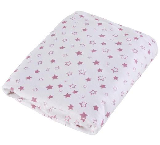 KINDERSPANNLEINTUCH - Pink/Weiß, Basics, Textil (70/140cm) - Zöllner