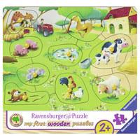 Greifpuzzle - Multicolor, Basics, Holz (24,2/22,2/1,95cm) - Ravensburger