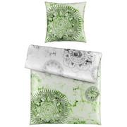 Posteljnina CRYSTAL - zelena/srebrna, Trendi, tekstil (135/200cm) - Esposa