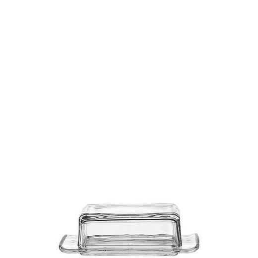 BUTTERDOSE Glas - Klar, Basics, Glas (18,5/7/10,5cm)
