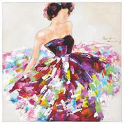 BILD - Multicolor, LIFESTYLE, Holz/Textil (100/100cm)