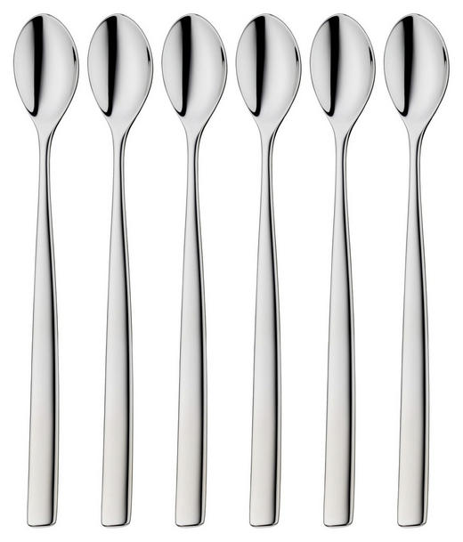 LATTE-MACCHIATO-LÖFFEL - Edelstahlfarben, Basics, Metall (19cm) - WMF