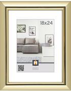 OKVIR ZA SLIKO 608462, 18/24 - zlata, Basics, umetna masa/steklo (29/23/2cm)