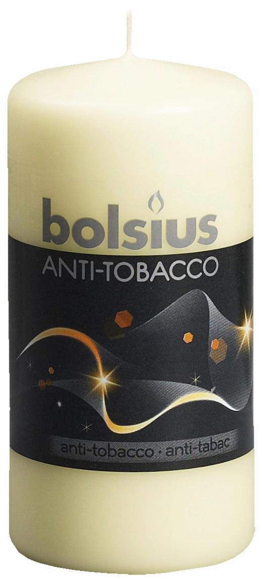 DUFTKERZE Anti-Tabak - Creme, Basics (12/6/cm) - Bolsius