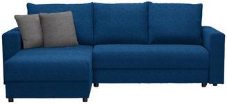 WOHNLANDSCHAFT in Textil Hellgrau, Petrol - Petrol/Hellgrau, Design, Kunststoff/Textil (176/246cm) - Xora