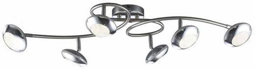 LED-DECKENLEUCHTE - LIFESTYLE, Kunststoff/Metall (70cm)