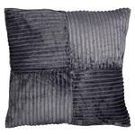 Zierkissen Tessa - Anthrazit, MODERN, Textil (60/60cm) - Luca Bessoni
