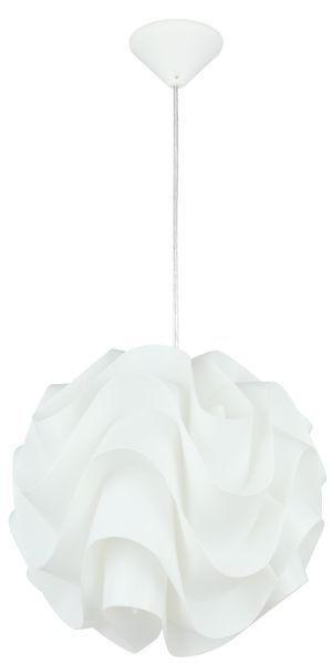 HÄNGELEUCHTE - Weiß, LIFESTYLE, Kunststoff/Metall (30/135cm) - Boxxx