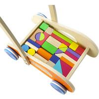 LAUFLERNWAGEN - Multicolor, Basics, Holz (35/23/45,5cm) - MY BABY LOU