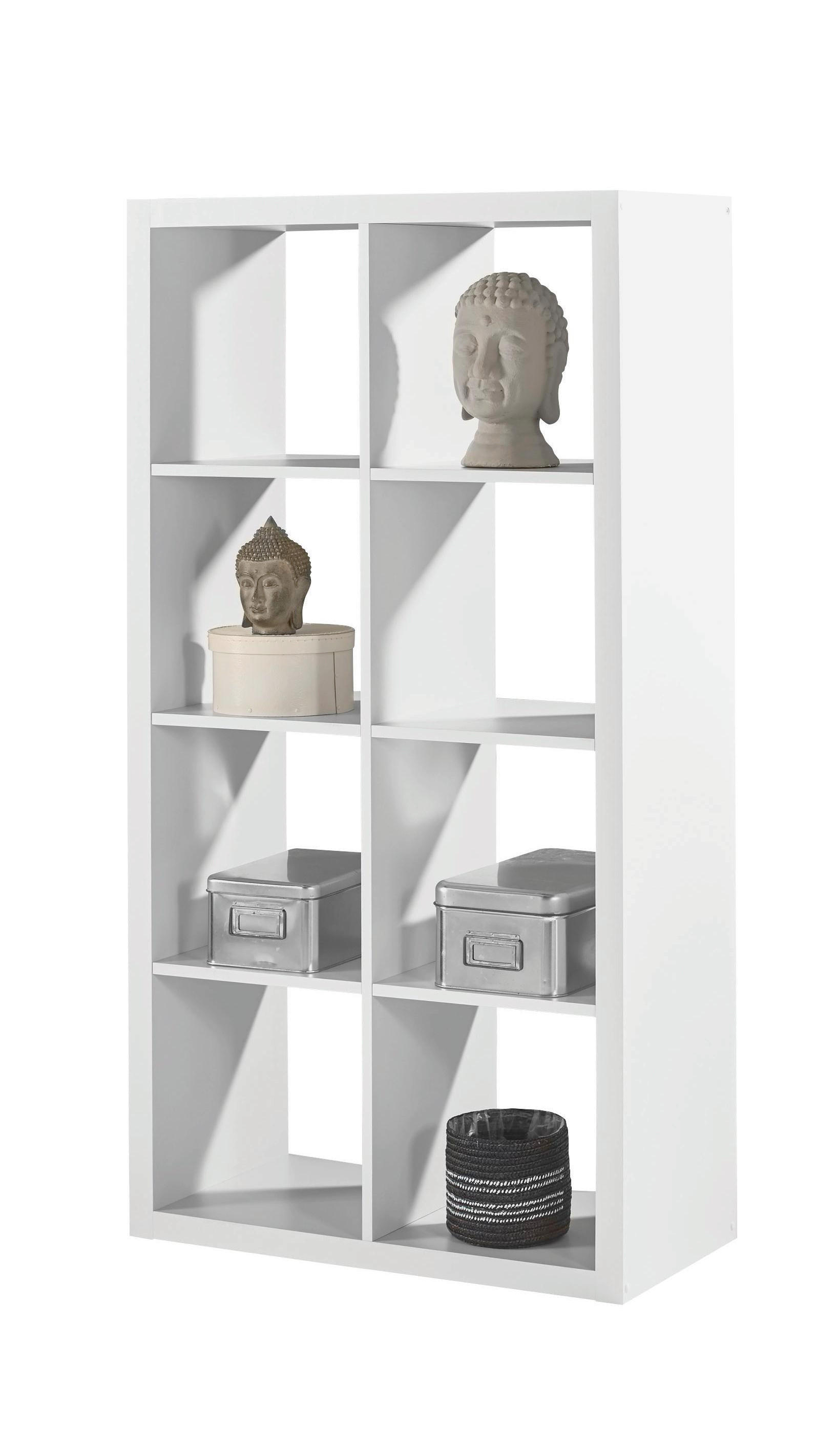 Bücherregal weiß modern  Regale in verschiedenen Modellen erhältlich