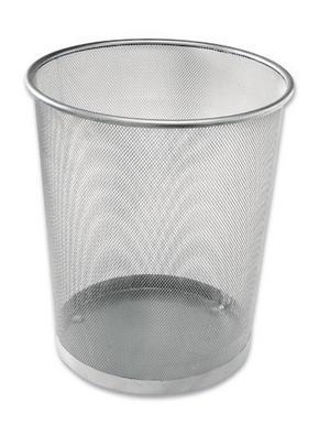 PAPPERSKORG - silver, Basics, metall (30,5/34,5/29,5cm) - X-Mas