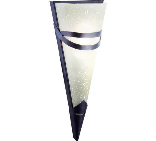 WANDLEUCHTE - Champagner, LIFESTYLE, Glas/Metall (14.5/33cm)
