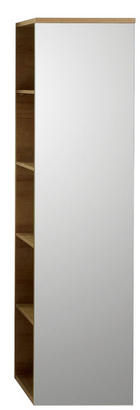 RAUMTEILER in Eichefarben - Eichefarben, Design, Glas/Holzwerkstoff (31,2/120/43,2cm) - SADENA