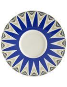 TALÍŘ - bílá/modrá, Basics, keramika (30,2cm) - Novel