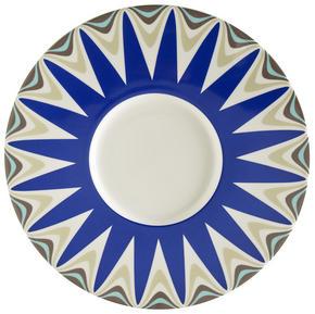 UNDERTALLRIK - vit/blå, Basics, keramik (30,2cm) - Novel