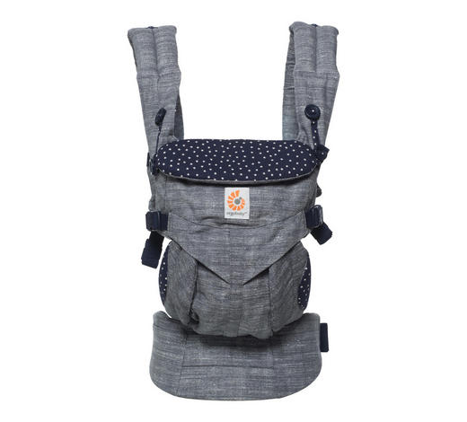 Babytrage Omni 360 - Anthrazit, Basics, Textil (15,3/26,5/23cm) - Ergo Baby