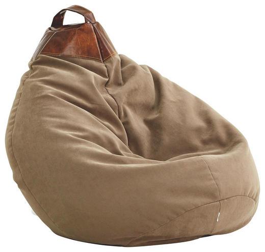 SITZSACK Sandfarben - Sandfarben, Design, Textil (110/70cm) - Carryhome