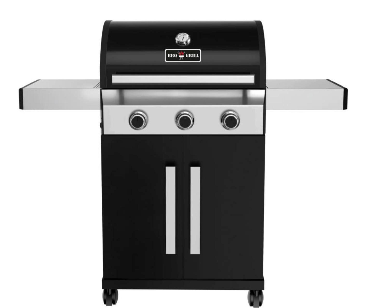 Enders Gasgrill San Diego 3 Bewertung : Edelstahl gasgrill grill grillwagen barbecue bbq mit