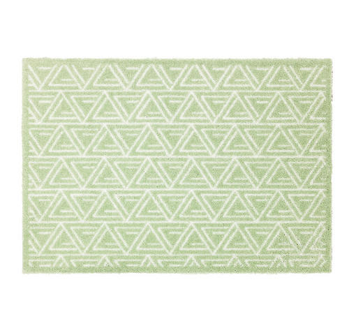 FUßMATTE 50/70 cm  - Mintgrün, KONVENTIONELL, Textil (50/70cm) - Schöner Wohnen