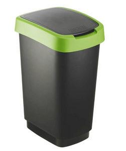 KANTA ZA SMEĆE - Zelena/Crna, Konvencionalno, Plastika (33,3/25,2/47,6cm) - Rotho
