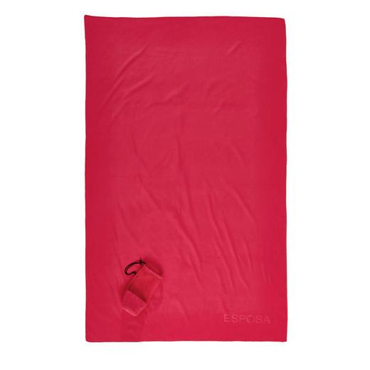 STRANDTUCH 110/175 cm - Rot, Design, Textil (110/175cm) - Esposa