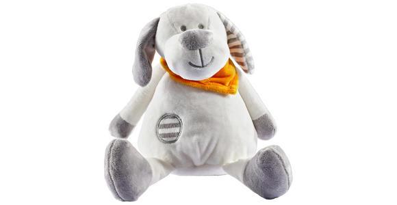 SPIELUHR - Weiß/Grau, Basics, Textil (17,5cm) - My Baby Lou