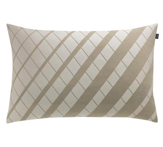 KISSENHÜLLE Creme, Beige 40/60 cm  - Beige/Creme, Design, Textil (40/60cm) - Joop!