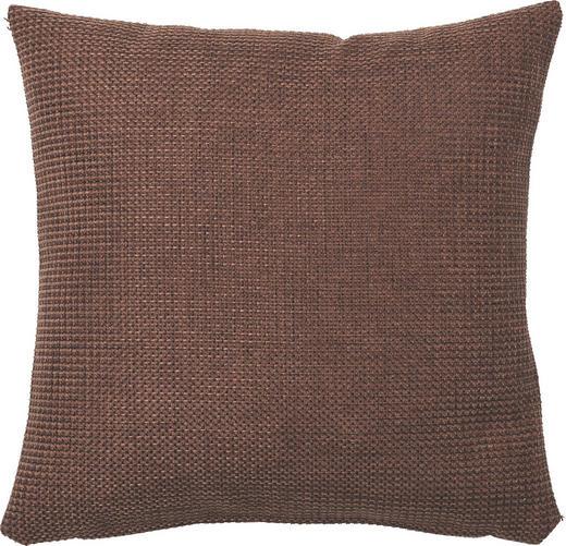 KISSENHÜLLE Dunkelbraun 40/40 cm - Dunkelbraun, Basics, Textil (40/40cm)