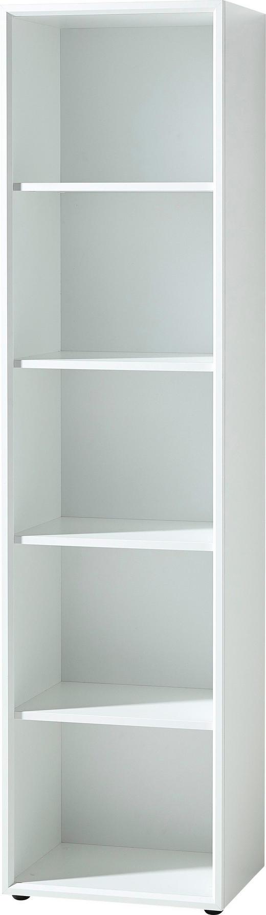 AKTENREGAL Weiß - Weiß, MODERN, Holzwerkstoff (50/196/37cm)
