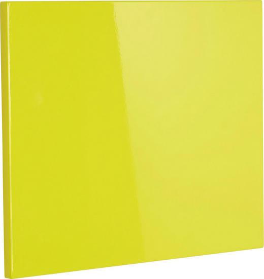 Klappe für Schuhschrank Gelb - Gelb, Design (52/42cm) - Xora