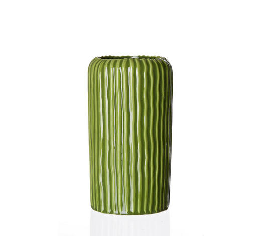 VASE 30 cm  - Grün, Keramik (30cm) - Ritzenhoff Breker