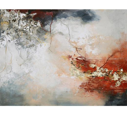 ORIGINALBILD - Multicolor, Design, Holz/Textil (120/90cm) - Monee