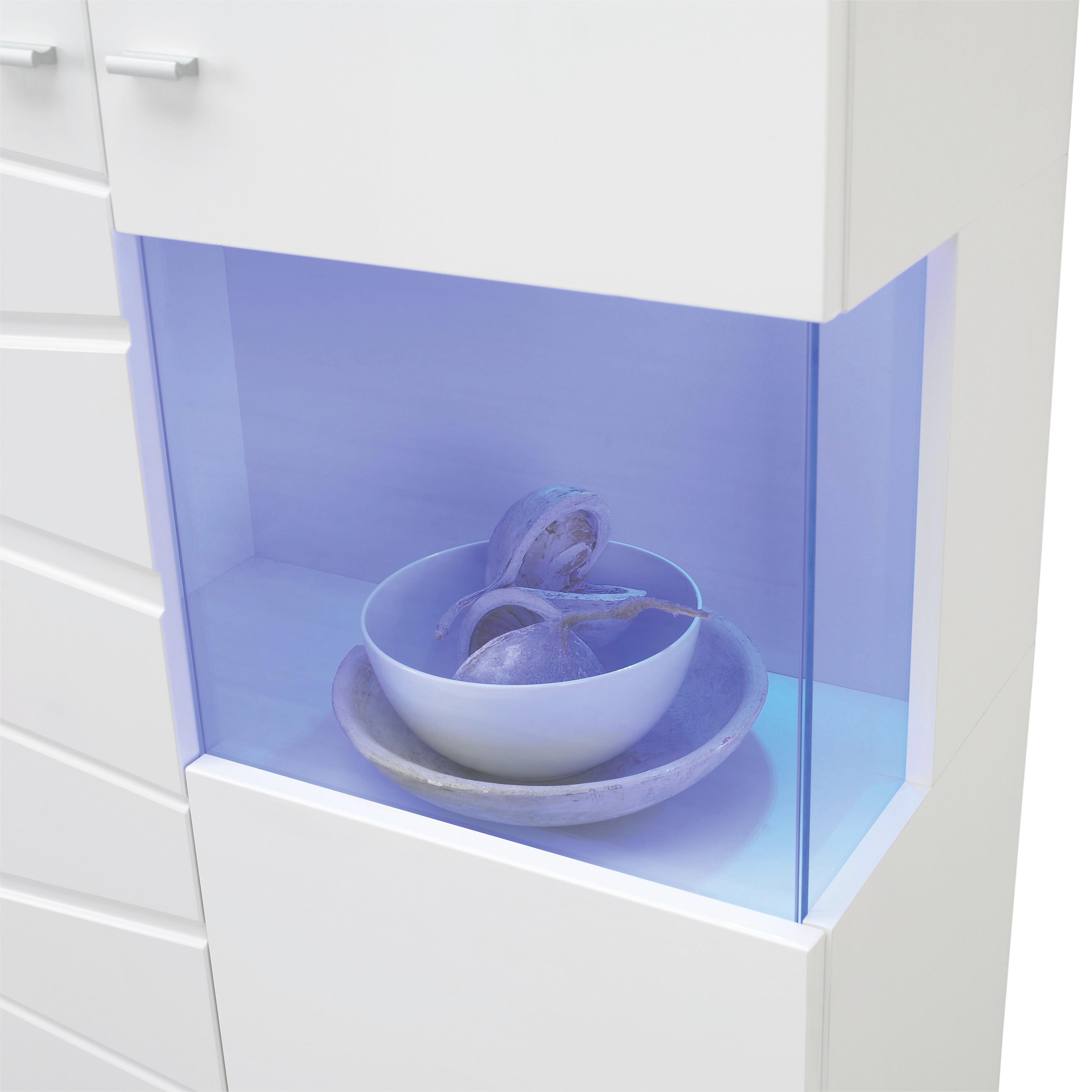 LED-DEKOLEUCHTE - MODERN, Kunststoff/Metall (26,5/11/5cm)