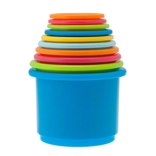 STAPELTURM - Multicolor, Basics, Kunststoff (10/63/10cm)