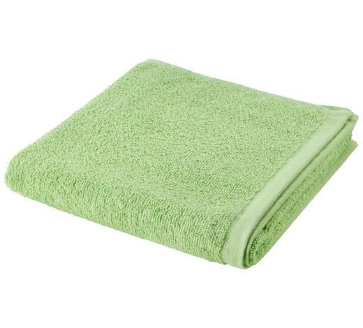 RUČNÍK, 50/100 cm, zelená - zelená, Basics, textil (50/100cm) - Esposa
