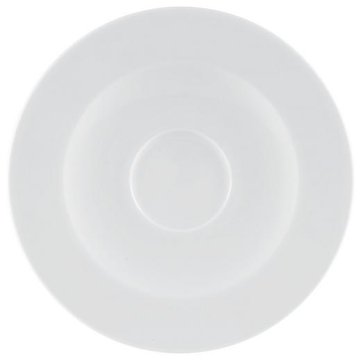 UNTERTASSE - Weiß, Keramik - Seltmann Weiden