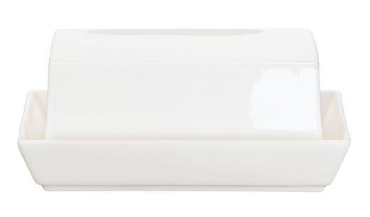 BUTTERDOSE Keramik Fine Bone China - Weiß, Basics, Keramik (12.8/15.7cm) - ASA