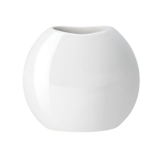 VASE - Weiß, Basics, Keramik (6/18/6cm) - ASA