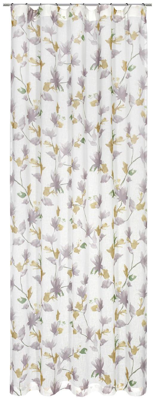 FERTIGVORHANG halbtransparent - Taupe/Grün, KONVENTIONELL, Textil (135/245cm) - ESPOSA