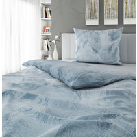 BETTWÄSCHE 140/200 cm - Blau, LIFESTYLE, Textil (140/200cm) - Novel