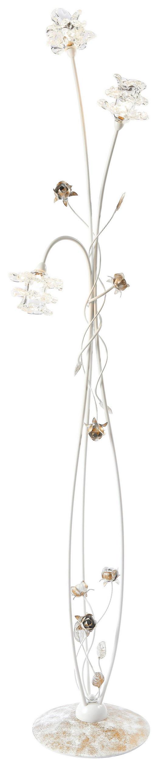 STEHLEUCHTE - LIFESTYLE, Glas/Metall (56/17cm)