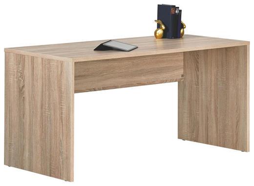 JUGENDSCHREIBTISCH Sonoma Eiche - Sonoma Eiche, Design, Holzwerkstoff (145/72/68cm) - Moderano