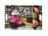 SERVIERTABLETT  37/52 cm  - Multicolor, LIFESTYLE, Kunststoff (37/52cm) - Homeware