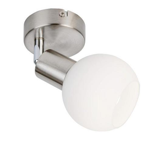 LED SVÍTIDLO - bílá, Basics, kov/sklo (10cm) - Novel