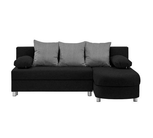 Wohnlandschaft In Textil Grau Schwarz Online Kaufen Xxxlutz