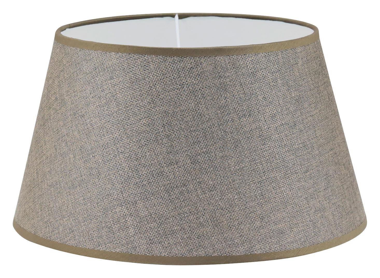 LEUCHTENSCHIRM  Braun  Textil  E27 - Braun, Design, Textil (35/19cm) - MARAMA