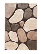 TEPIH VISOKOG FLORA - bež/smeđa, Design, tekstil (160/230cm) - Novel