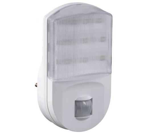 NACHTLICHT - Weiß, Basics, Kunststoff (9/10/6cm) - Homeware